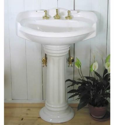 白陶器ペデスタルシンク ワイドⅡ
