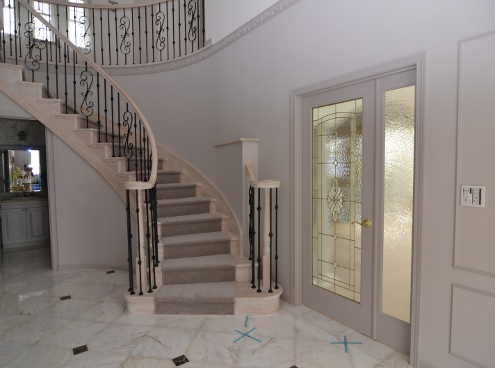 Y邸 サーキュラー階段、SIMPSON DOOR,WESTAD DOOR
